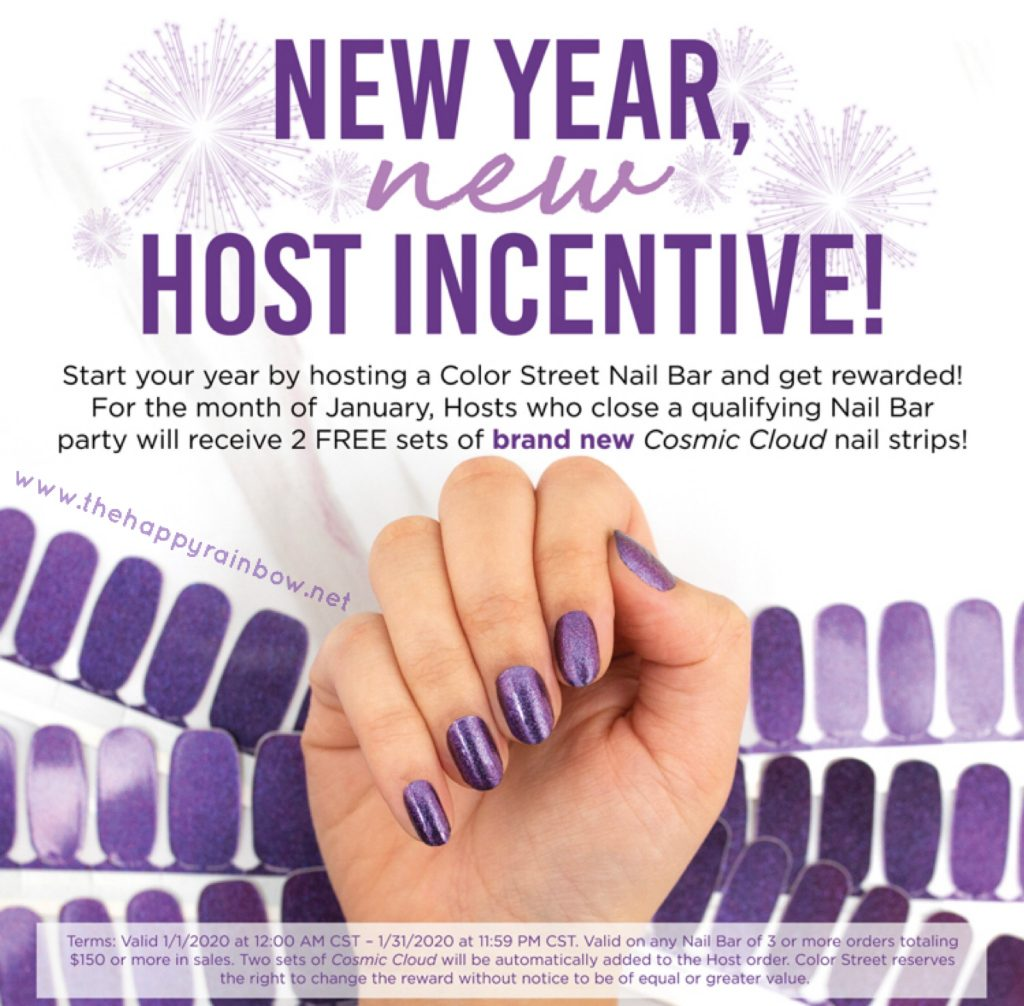 Flyer for the January Host Incentive.