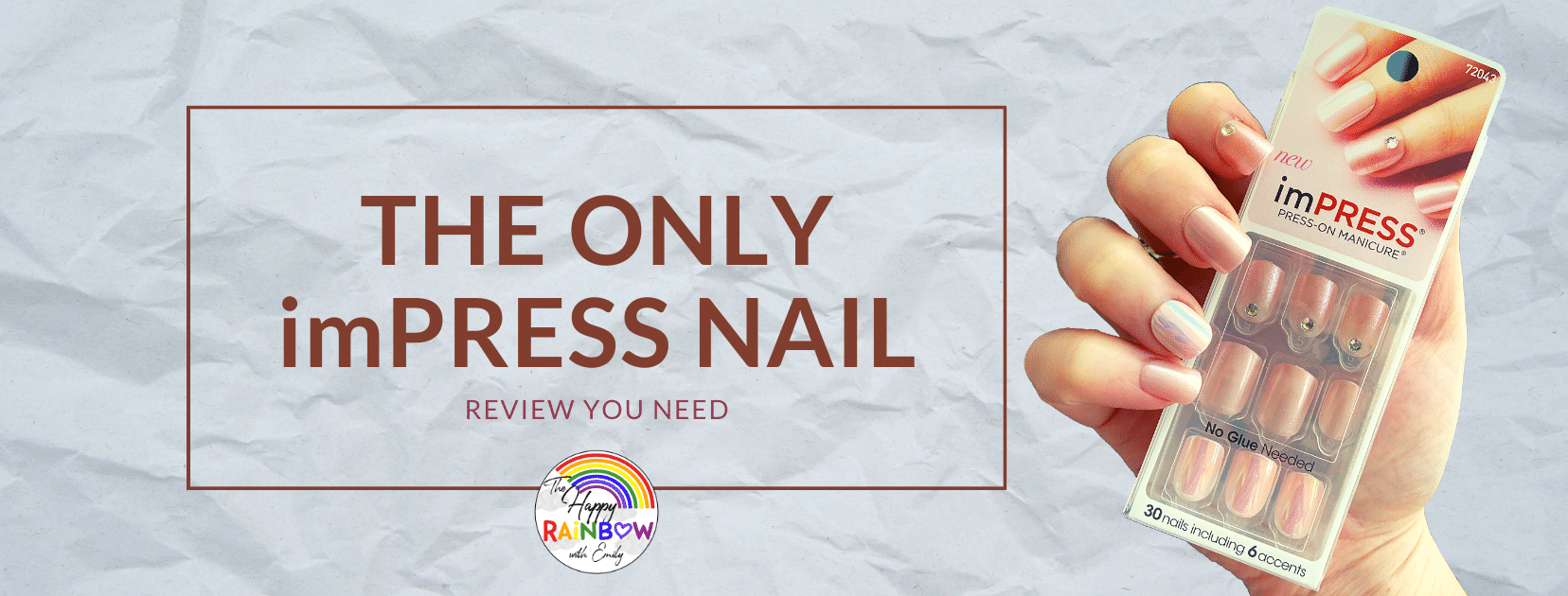 Title photo for the imPRESS nail review article