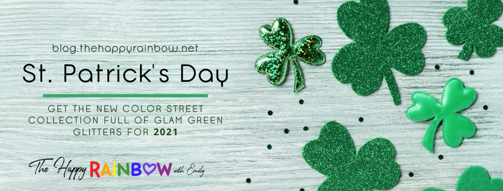 Color Street St. Patrick's Day Collection 2021 header