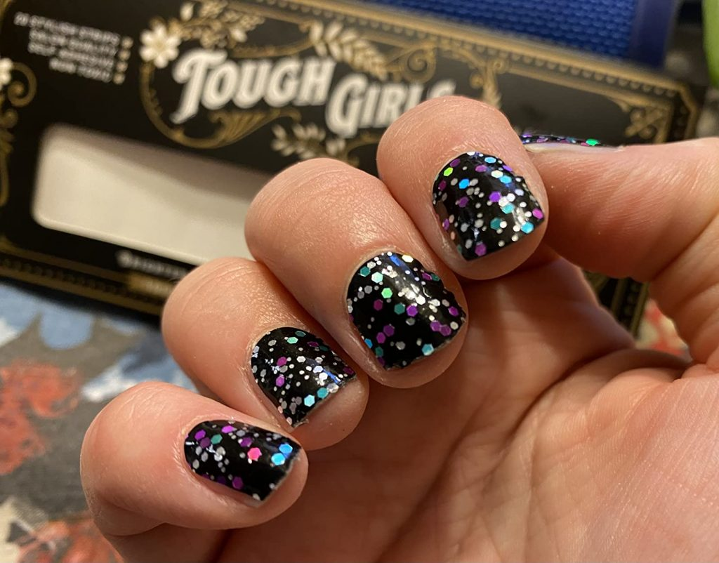 Tough Girls Nails are one of the best nail wraps on Amazon